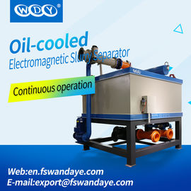 Energy Saving Oil Cooling Magnetic Separator Machine With Long Life Span raw material kaolin feldspar ceramic slurry